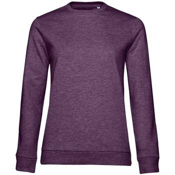 textil Dam Sweatshirts B&c WW02W Lila ljung