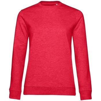 textil Dam Sweatshirts B&c WW02W Röd ljung