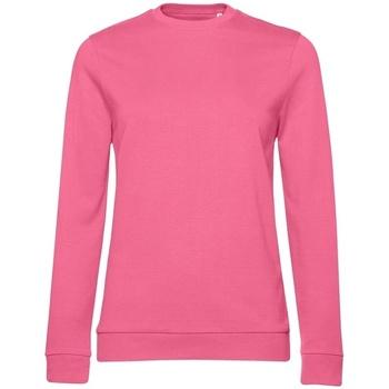 textil Dam Sweatshirts B&c WW02W Ljusrosa