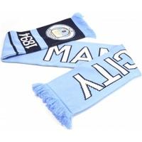 Accessoarer Halsdukar Manchester City Fc  Ljusblått/Navy/White