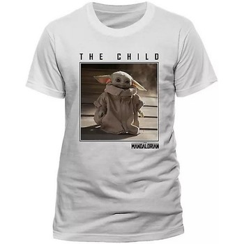 textil T-shirts Star Wars: The Mandalorian  Vit