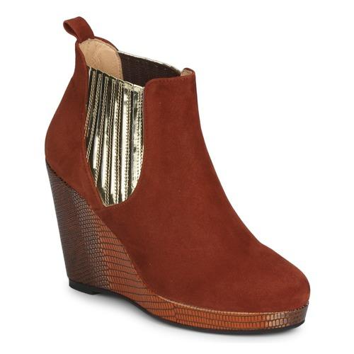 Skor Dam Boots MySuelly LEON Rostfärgad / Guldfärgad