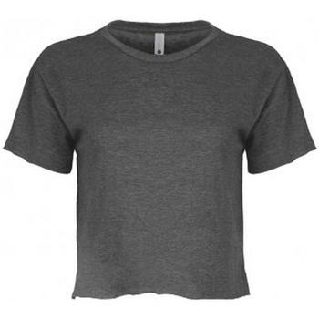 textil Dam T-shirts Next Level NX5080 Grått kolgrått