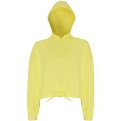 textil Dam Sweatshirts Tridri TR085 Citron