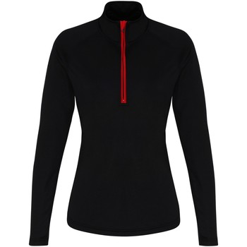 textil Dam Långärmade T-shirts Tridri TR120 Svart/röd