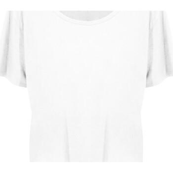 textil Dam T-shirts Ecologie EA02F Arctic White