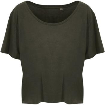 textil Dam T-shirts Ecologie EA02F Fern Green