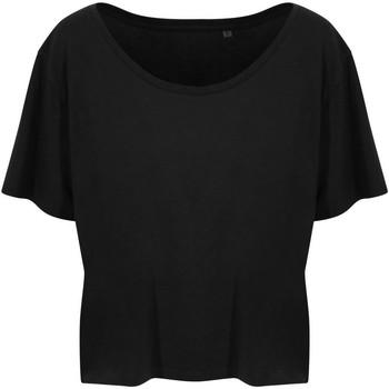 textil Dam T-shirts Ecologie EA02F Jet Black