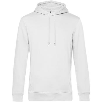 textil Herr Sweatshirts B&c WU33B Vit