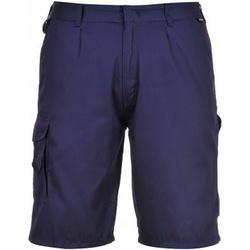 textil Herr Shorts / Bermudas Portwest PW128 Marinblått