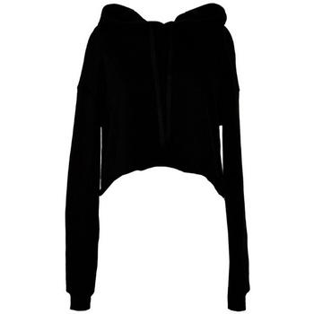 textil Dam Sweatshirts Bella + Canvas BL7502 Svart