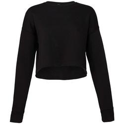 textil Dam Sweatshirts Bella + Canvas BL7503 Svart