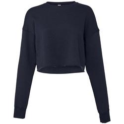 textil Dam Sweatshirts Bella + Canvas BL7503 Marinblått