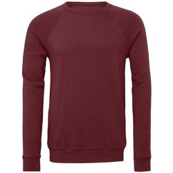 textil Sweatshirts Bella + Canvas BE111 Maroon