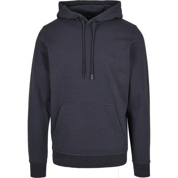 textil Herr Sweatshirts Build Your Brand BB001 Marinblått
