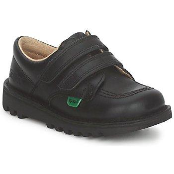 Skor Barn Sneakers Kickers KICK LO VELCRO Svart