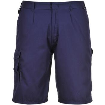 textil Herr Shorts / Bermudas Portwest  Marinblått