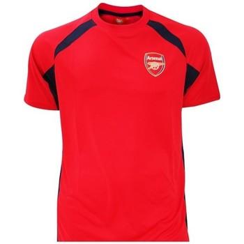 textil Pojkar T-shirts Arsenal Fc  Röd/Svart
