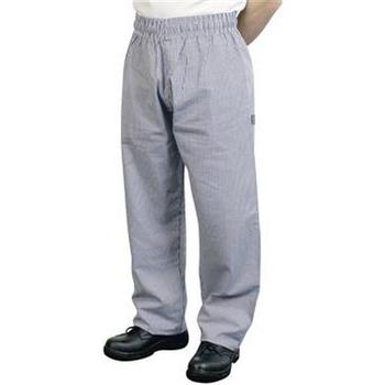 textil Herr Baggybyxor Bonchef  Svart/vit