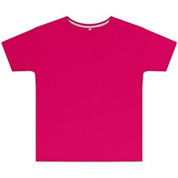 textil Barn T-shirts Sg SGTEEK Mörkrosa