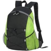 Väskor Ryggsäckar Shugon SH7237 Svart/Lime Green