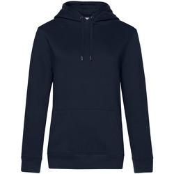 textil Dam Sweatshirts B&c WW03Q Marinblått