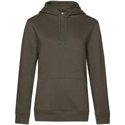 textil Dam Sweatshirts B&c WW03Q Khaki grönt