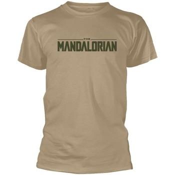 textil T-shirts Star Wars: The Mandalorian  Beige