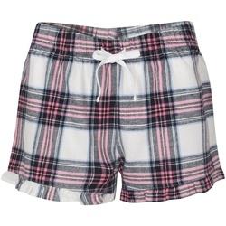 textil Dam Pyjamas/nattlinne Sf SK82 Vit/rosa