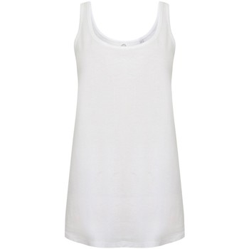 textil Dam Linnen / Ärmlösa T-shirts Skinni Fit SK234 Vit