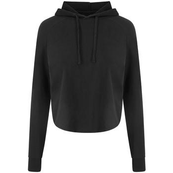 textil Dam Sweatshirts Awdis JC054 Jet Black