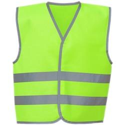 textil Barn Koftor / Cardigans / Västar Yoko YK106B Lime Green
