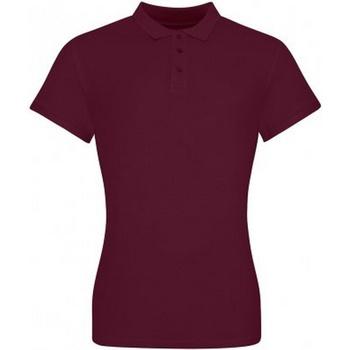 textil Dam T-shirts & Pikétröjor Awdis JP100F Bourgogne