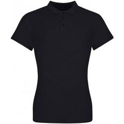 textil Dam T-shirts & Pikétröjor Awdis JP100F Djupt svart