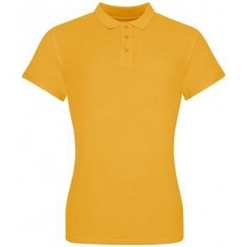 textil Dam T-shirts & Pikétröjor Awdis JP100F Senapsgult
