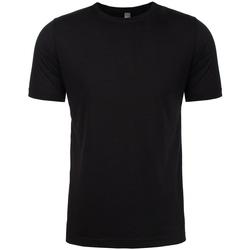 textil Herr T-shirts & Pikétröjor Next Level NX6200 Svart