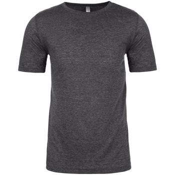 textil Herr T-shirts & Pikétröjor Next Level NX6200 Grått kolgrått