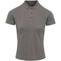 textil Dam T-shirts & Pikétröjor Premier PR632 Mörkgrå