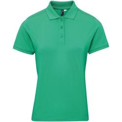 textil Dam T-shirts & Pikétröjor Premier PR632 Kelly