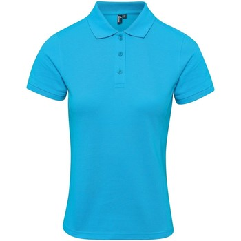 textil Dam T-shirts & Pikétröjor Premier PR632 Turkos