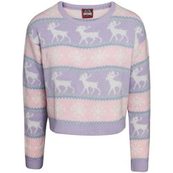 textil Dam Sweatshirts Christmas Shop  Rosa/lila