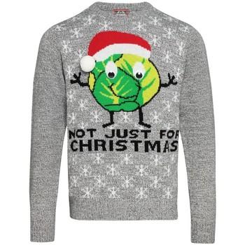 textil Sweatshirts Christmas Shop CJ004 Grått