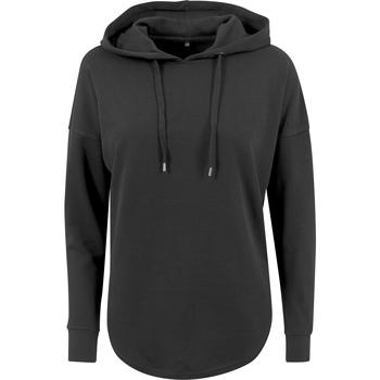 textil Dam Sweatshirts Build Your Brand BY037 Svart