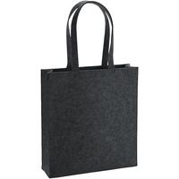 Väskor Axelremsväskor Bagbase BG723 Charcoal Melange