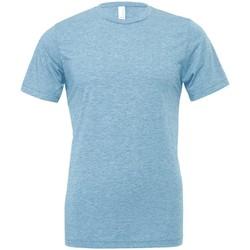 textil T-shirts & Pikétröjor Bella Canvas CV003 Denim