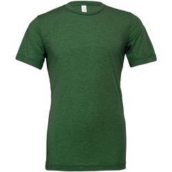 textil T-shirts & Pikétröjor Bella Canvas CV003 Gräs grönt