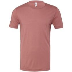 textil T-shirts & Pikétröjor Bella Canvas CV003 Mauve Triblend