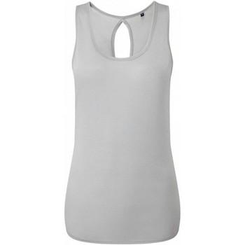 textil Dam Linnen / Ärmlösa T-shirts Tridri TR044 Cool Grey