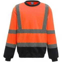 textil Herr Sweatshirts Yoko  Orange/Navy