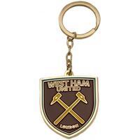 Accessoarer Nyckelringar West Ham United Fc  Brun